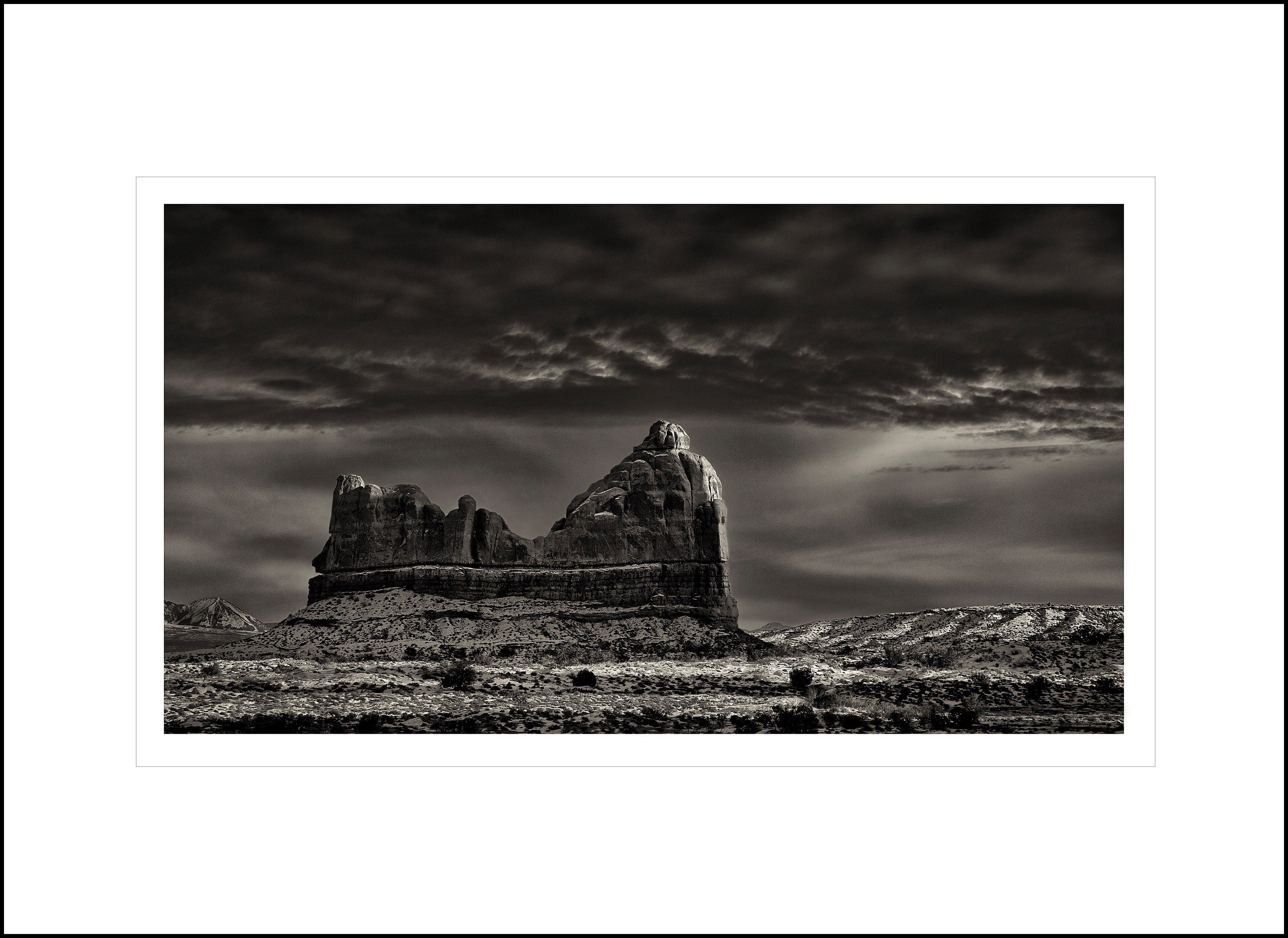 Cheri MacCallum - Shiprock at First Light